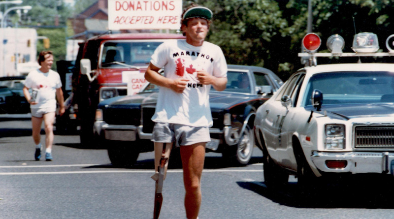 Running for research, Terry Fox at PHS