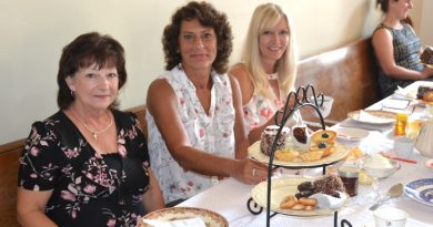 High tea at  St. Joseph's Convent in Chapeau
