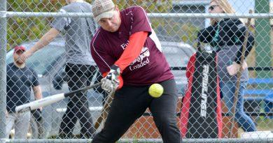 Island softball tourney swings hard for resident