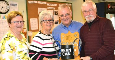 Day curlers host year-end banquet, award and trophy presentations