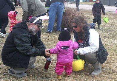 Easter Egg Hunts aplently in the Pontiac