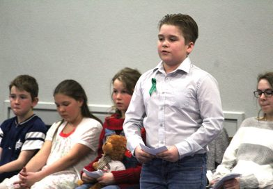 Dr. S.E. McDowell Elementary students stifle stage fright