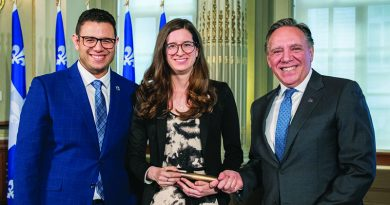 Local volunteer recognized at National Assembly