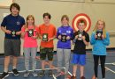 Dr. S.E. McDowell doles out track awards