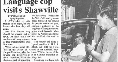 The day the language police came to town