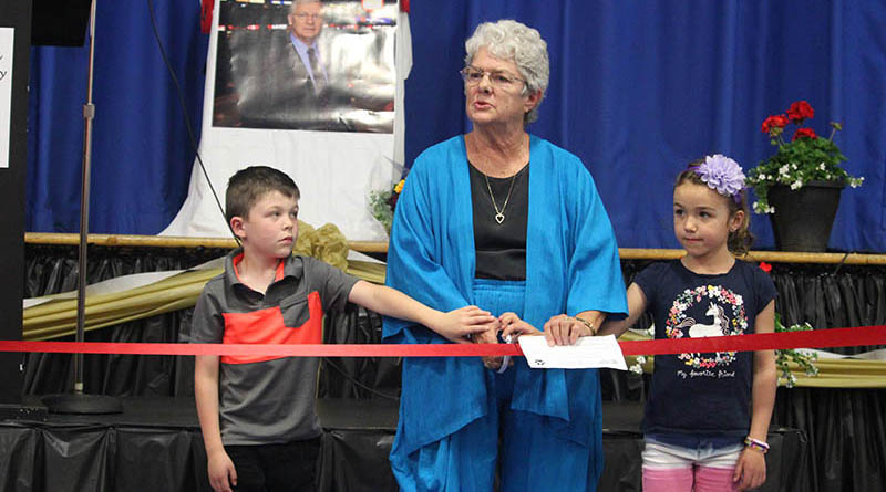Community icon commemorated at McDowell