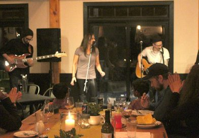 The North Woods wows the crowd at Little Red Wagon winery
