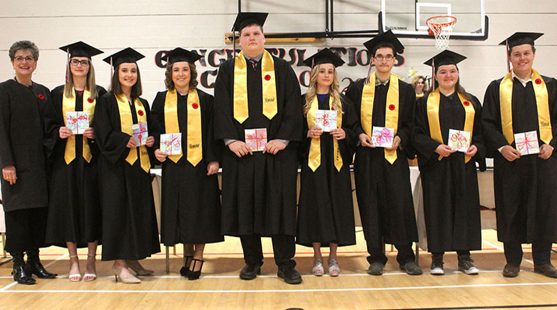 Honour students and PHS class of 2019, officially graduated