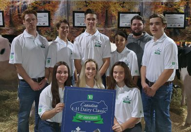 Local 4-Hers represent Quebec at the Royal
