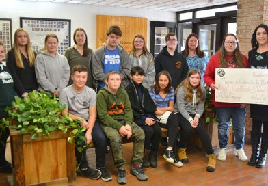 PHS WeAct Club donate to snowsuit fund