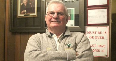Hundreds gather at Gavan's to bid farewell to a community legend