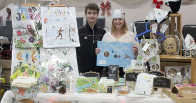 Local artisans show off their stuff at Luskville Community Centre