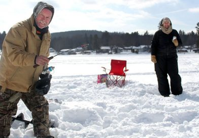 Otter Lake RA host first ice fishing derby