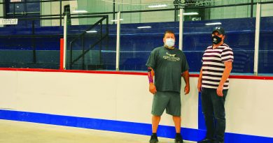 Shawville Arena gets new boards