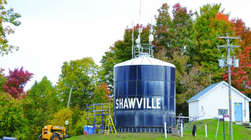 Work continues on  Shawville water system