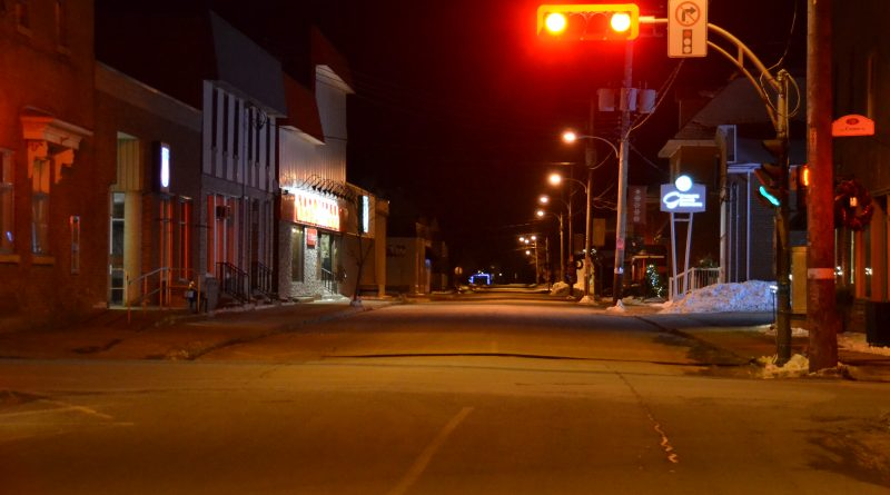 Ghost town: province enacts curfew