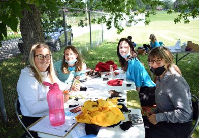 'Leaving their mark on the Pontiac': Youth learn about art and history